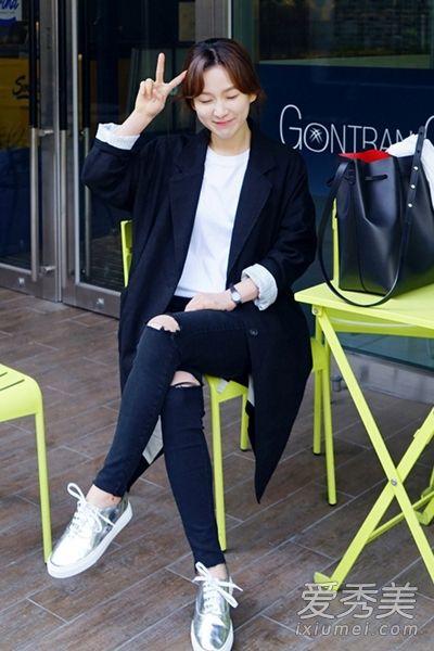 韩国女生三月早春搭配 春装搭配经典实用