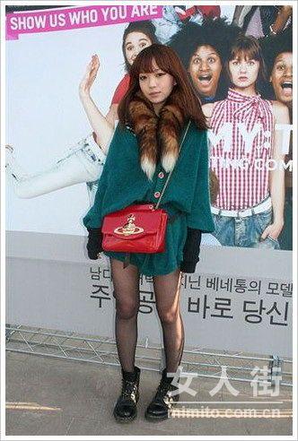 看韩国潮女们搭出高街流行风