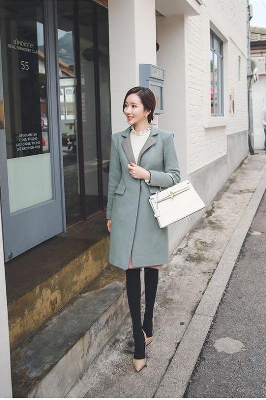 最新韩版女装穿搭术,时尚明星街拍秀
